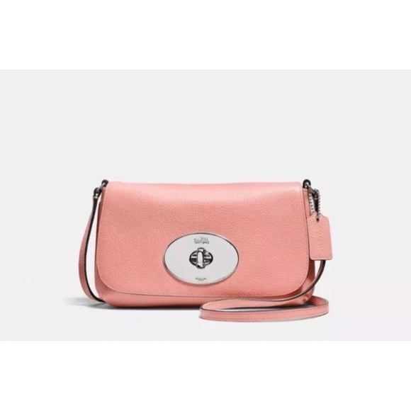 b4f7399e19 COACH LIV Crossbody pouch - Style F52896 Pale Pink